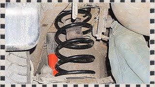 █ КАК ЗАМЕНИТЬ ЗАДНИЕ ПРУЖИНЫ ВЕРЕВКОЙ на Mitsubishi Pajero Sport. Rear springs.
