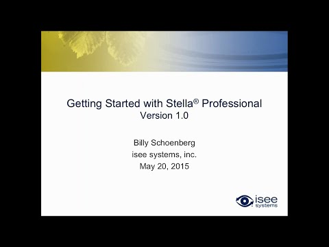 Getting Started with Stella Professional Version 1.0