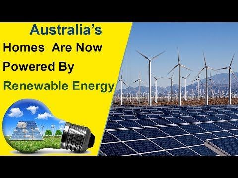 Renewable Energy Is Applied In Home's |Australia|