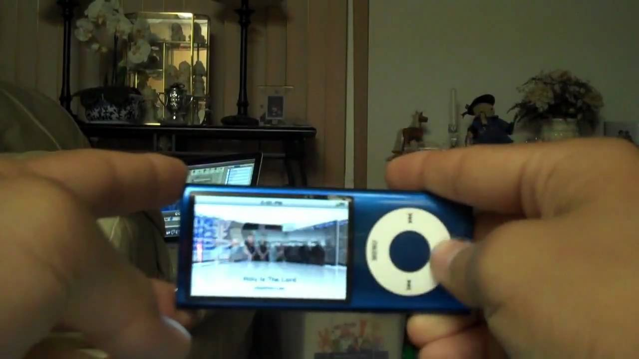 iPod Nano 5th Generation Review - YouTube