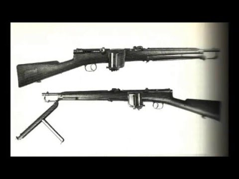 Italian Automatic Rifles 1890 - 1945