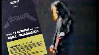 Metallica - Roma 16.11.1992