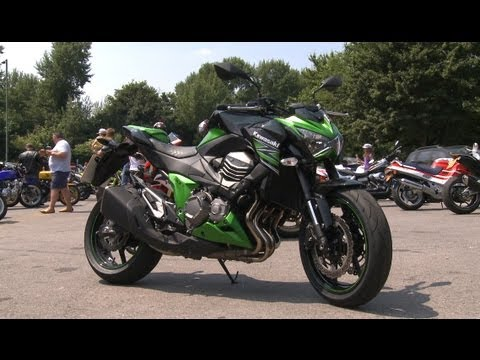 2013 kawasaki z800 review youtube. Black Bedroom Furniture Sets. Home Design Ideas