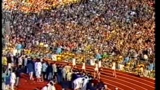 Munich 1972 - Lighting of the Olympic Cauldron