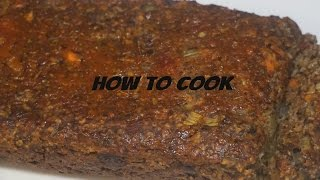 MEATLESS JAMAICAN VEGAN MEATLOAF RECIPE JAMAICAN ACCENT 2016