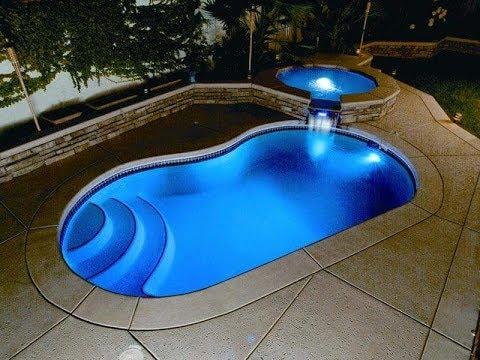 حمامات سباحة فيبر جلاس بتصميمات رائعة ضمان 20 عام