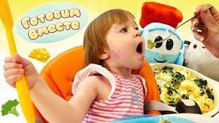 Маша Капуки и Запеканка из капусты для Бьянки - Рецепты для детей