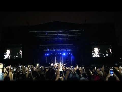DNCE abrindo o show do Bruno Mars 24k Magic World Tour em São Paulo 23/11/17