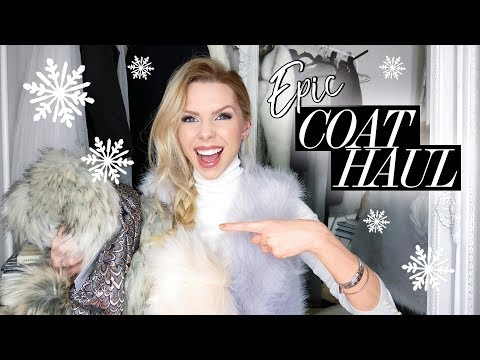 HAUL AND TRY ON | December 2017 | Winter Coats, River Island, Missguided