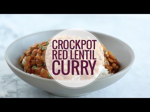 Crockpot Red Lentil Curry