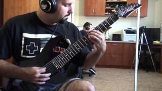 Dream Theater - Outcry Guitar cover Michael Bonet