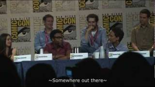 COMMUNITY COMIC CON 2010 PANEL - SPANISH RAP AND SOMEWHERE OUT THERE