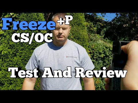 Freeze NF Plus P - OC/CS Spray Test And Review