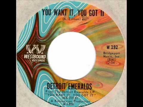 "Detroit Emeralds ""You Want It, You Got It"" - Full Album"