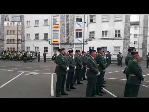 La Guardia Civil homenajea a su patrona en Lugo