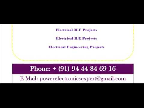 POWER ELECTRONICS PROJECT IN ADELAIDE