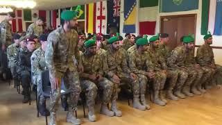 Captain Usman of Pakistan Army React to his Team