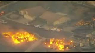 'Out of Control' Fires In Southern California Forces Thousands to Flee