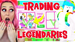 I Let My BEST FRIEND PICK Which LEGENDARY PETS  I TRADE In Adopt Me For 24 HOURS.. Adopt Me (Roblox)