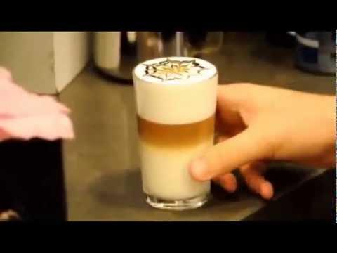 Кофе Латте Макиато   приготовление
