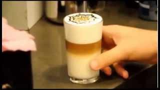 Кофе Латте Макиато   приготовление(Как приготовить кофе Латте Макиато., 2013-11-28T15:05:22.000Z)