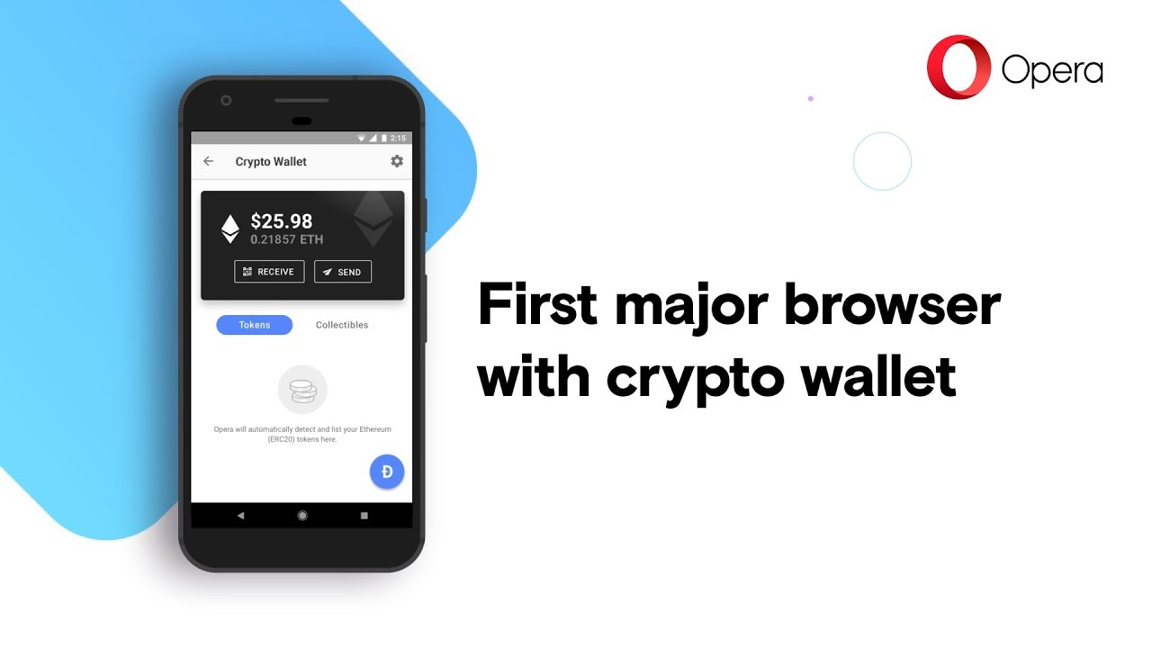 Browser Opera The Opera Browser For Android With Built In Crypto Wallet Opera Browser