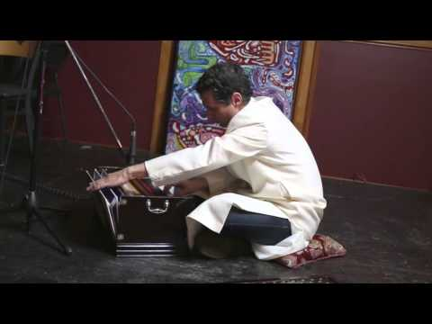 Walter Carlos on the harmonium @Visionary Noise Chill Vibes
