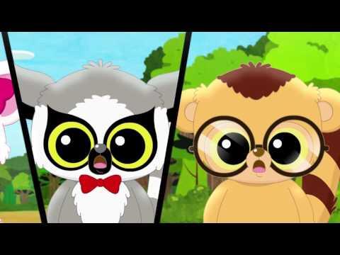 Мультфильм - Юху и его друзья - Все серии HD - Сборник мультиков про милых зверят
