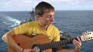 Агата Кристи - Два корабля (видео урок) как играть на гитаре
