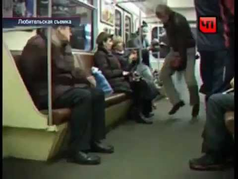 Russian Harry Potter in Moscow Metro