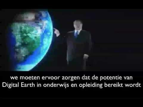 The digital-earth.eu network - Dutch version