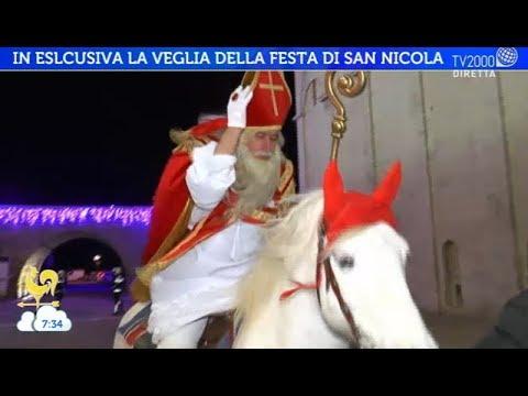 In esclusiva la veglia della festa di San Nicola a Bari