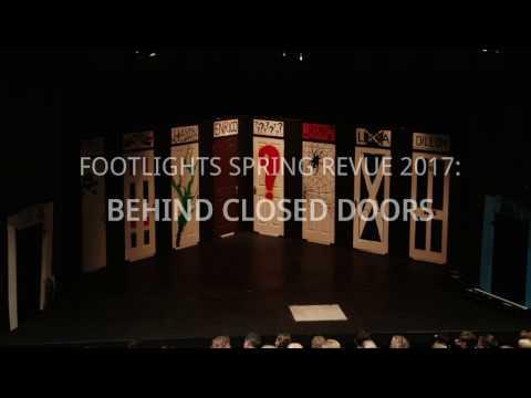 Footlights Spring Revue 2017: Behind Closed Doors