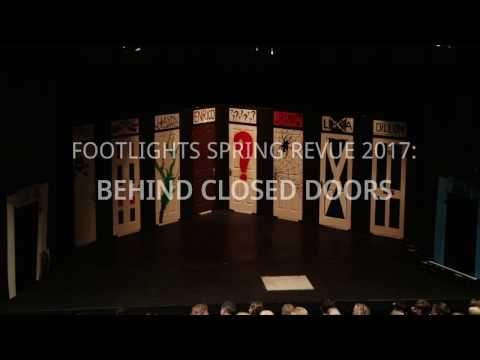 Footlights Spring Revue 2017: Behind Closed Doors