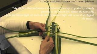 UDesign with Ardith 4. - Woven Bird