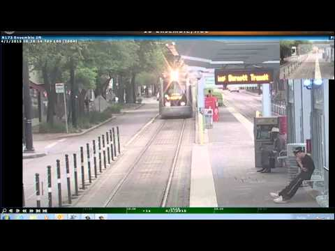 Caught on Camera: Houston Metro Light Rail Collision and Near Misses