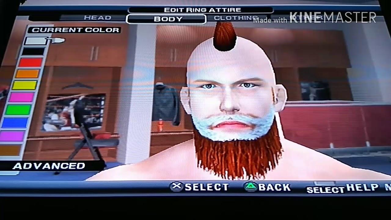 Wwe Svr2011 How To Create Sheamus Raw New Caw Youtube