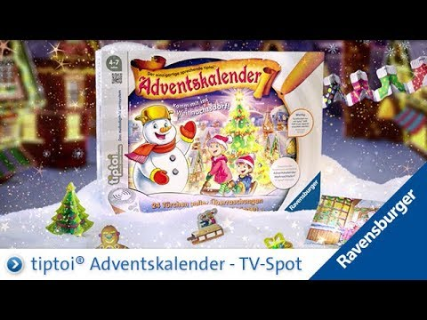Weihnachtskalender Tiptoi.Tiptoi Adventskalender 2017 Tv Spot