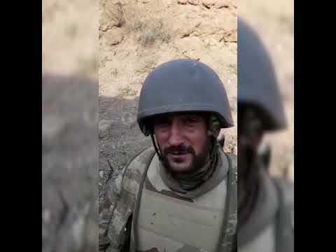 Карабах война 2020. Свежие кадры с поля боевых действий. Пленные солдаты ВС Армении