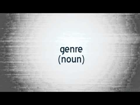 genre - definition