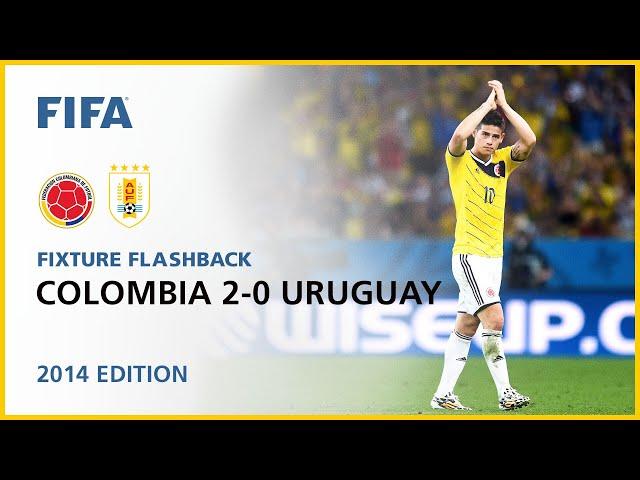 Colombia 2-0 Uruguay | Brazil 2014 | FIFA World Cup