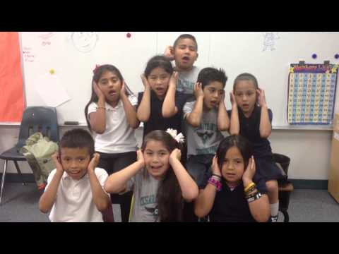 Party in the USA by First grade kids
