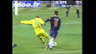Les 2 buts de Victor Bonilla avec le FC Nantes (2001/2002)
