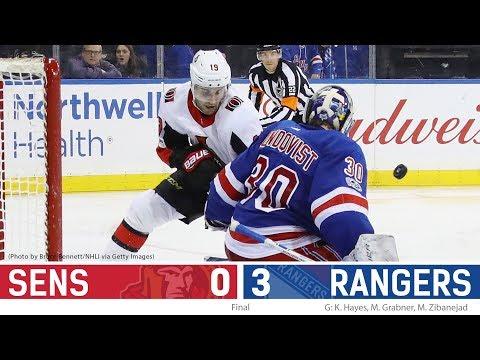 Nov 19: Sens vs. Rangers - Players Post-game