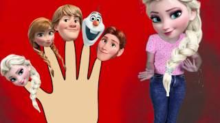 Elsa Frozen Parmak Ailesi Şarkısı Türkçe Çocuk Şarkısı - Karlar Buzlar Kraliçesi