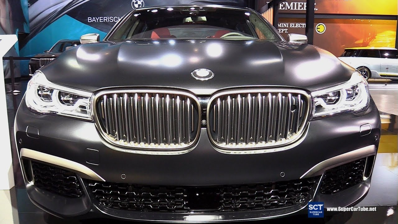 2018 bmw 7 series m760i xdrive exterior and interior. Black Bedroom Furniture Sets. Home Design Ideas