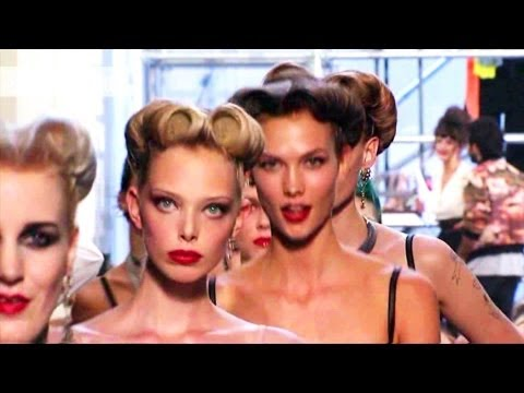 Jean Paul Gaultier Show - Paris Fashion Week Spring 2012 PFW | FashionTV - FTV