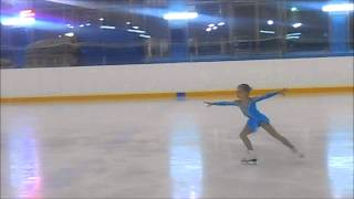 """Даша Батяева, 8 лет, II место, 27 декабря 2013 года.""""Зимние узоры"""""""