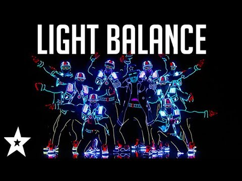 Light Balance WINS Tyra Banks's GOLDEN BUZZER | America's Got Talent 2017