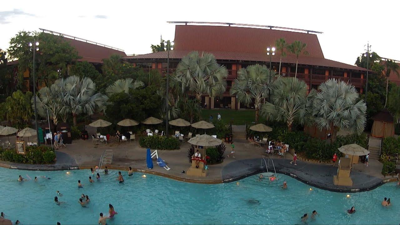 Disney's Polynesian Resort Nanea Volcano Pool Slide POV ...